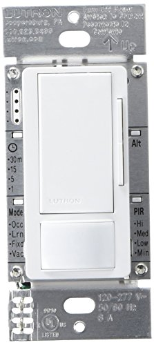 Lutron MS Z101 WH 120 277V Occupancy Multi Location product image