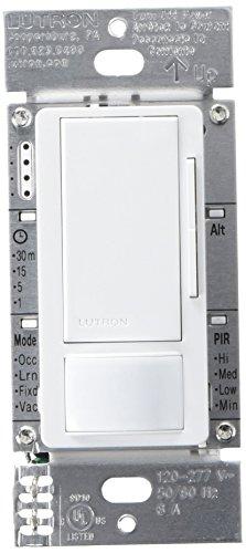 Lutron MS-Z101-WH, Occupancy/Vacancy Dimmer Sensor