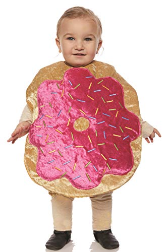 Underwraps Kid's Toddler's Plush Donut Belly Babies Costume Childrens Costume, Multi, Medium -