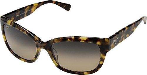- Maui Jim Plumeria HS768-10L | Polarized Tokyo Tortoise cateye Frame Sunglasses, HCL Bronze Lenses, with with Patented PolarizedPlus2 Lens Technology