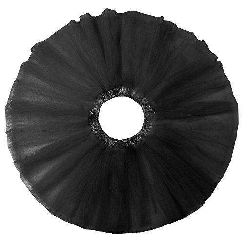 Capas Al Falda Por Karin Niña De Niñas negro Rockabilly Rodilla La Cl459 Cancán Mini Tutú Grace Enaguas Tobillo Miriñaque qEXzIwxq