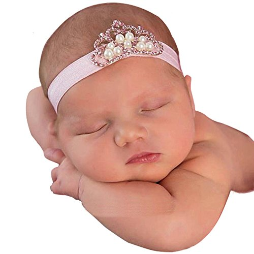 Qandsweet Baby Headbands Crystal Crown product image