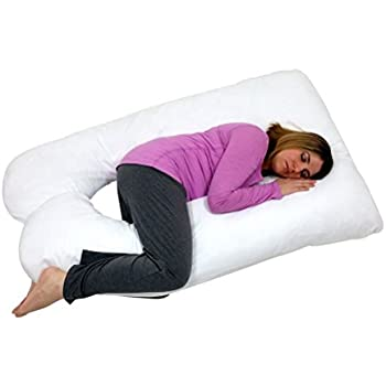 Amazon Com Bluestone Full Body Contour U Pillow Great