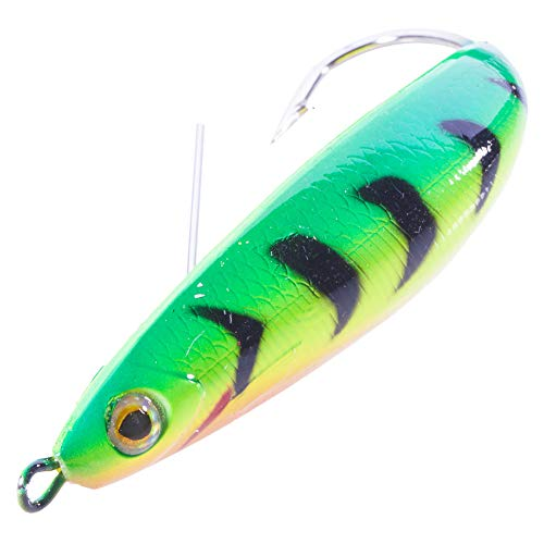 Seanlure Bird Fishing 7.5cm 20g Weedless Doctor Spoon Fishing Lures Silver Minnow Hard Bait Lures (5)