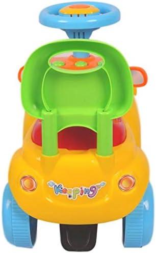 Rutschauto ab 1 Jahr Lauflernauto Eco Toys MamaLoes Ding Billy der Zug gelb 556 Rutscher