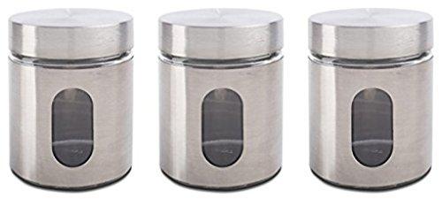 Glass Tea Canister - 1