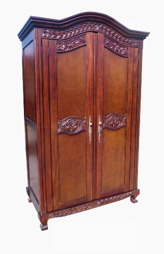 D-ART COLLECTION Old English Armoire by D-Art Collection