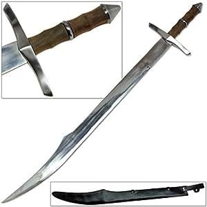 Assassins scimitar ottoman empire arabic sword ultra sharp steel saber sports - Ottoman empire assassins creed ...