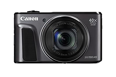 Canon PowerShot SX720 HS (Black) by Canon