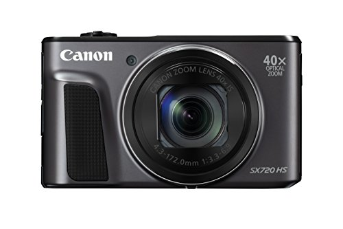 Canon PowerShot SX720 HS (Black) (Series Cmos Battery)