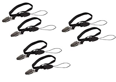 Safety Leash for Pedometer - 6 units. Help Prevent Pedometor loss by Leash