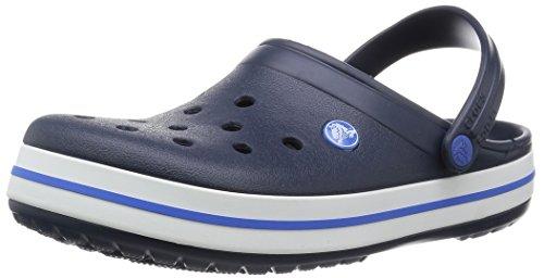 blanc Sabots Mixte Crocs Bleu Crocband Marine Enfant BwaYqHp