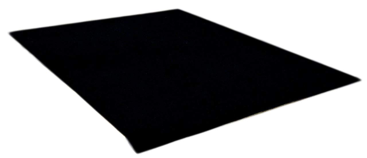 Dean Flooring Company Ebony 6' x 10' Indoor/Outdoor Patio Deck Boat Entrance Event Carpet/Rug Mat with Marine Backing