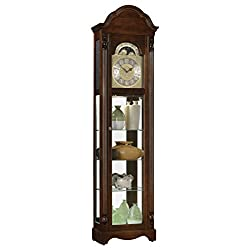 Ridgeway Timeless Accents Clarksburg Curio Grandfather Clock