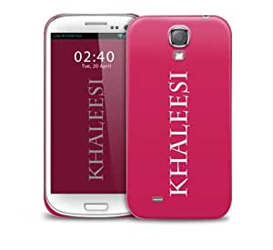 got khaleesi name pink Samsung Galaxy S4 GS4 protective phone case