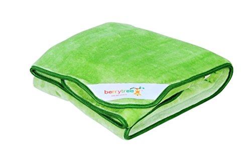 Berrytree Baby Blanket (Baby Green)