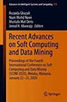 Recent Advances on Soft Computing and Data Mining Front Cover
