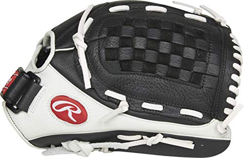 Rawlings Shut Out Series Fastpitch Softball Glove, Basket Web, 12.5 inch, Right Hand Throw