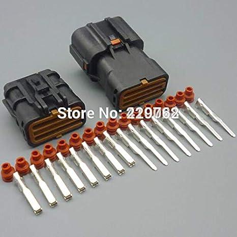 amazon com davitu 8 pin 2 0mm car waterproof male female plug auto CDI Wiring Harness