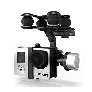 MAUBHYA Walkera G-2D Brushless Gimbal Metal Version For iLook/GoPro Hero 3 Camera on Walkera QR X350 Pro RC by MAUBHYA