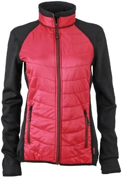 TALLA X-Large. James & Nicholson Jacke Ladies Hybrid Jacket Chaqueta, Mujer