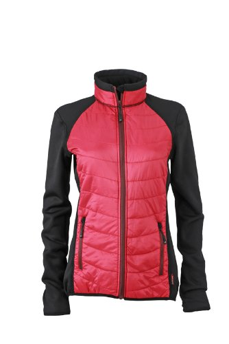TALLA XL. James & Nicholson Jacke Ladies Hybrid Jacket Chaqueta para Mujer