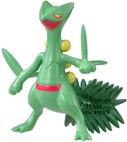 """Takara Tomy Pokemon Monster Collection Mini Figure - 1.5"""" Sceptile / Jukai"""