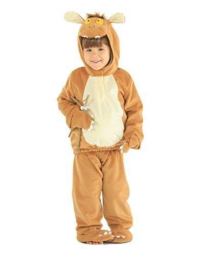 Gruffalo Child Costume, Kids Gruffalo's Child Dress-Up Outfit by vmc