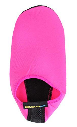 BBA Water Skin Schuhe Aqua Socken für Beach Swim Surf Yoga Übung Rosa