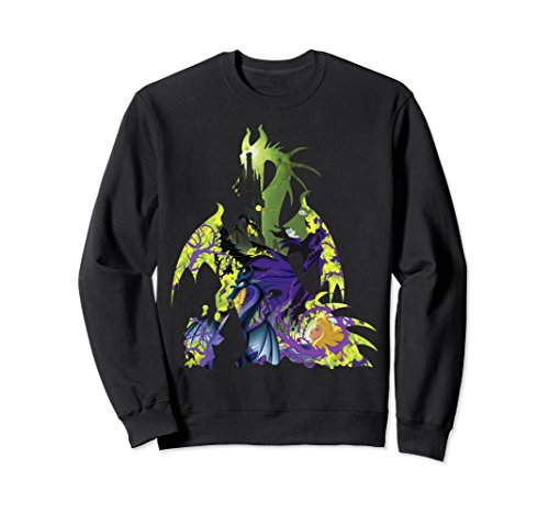 Unisex Disney Sleeping Beauty Maleficent Dragon Graphic Sweatshirt Medium - T-shirt Sweatshirt Beauty