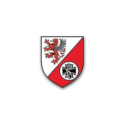 Aufkleber / Sticker -RezLazGrp 7401 Reservelazarettgruppe Heer ... | {Sanitäter symbol 70}