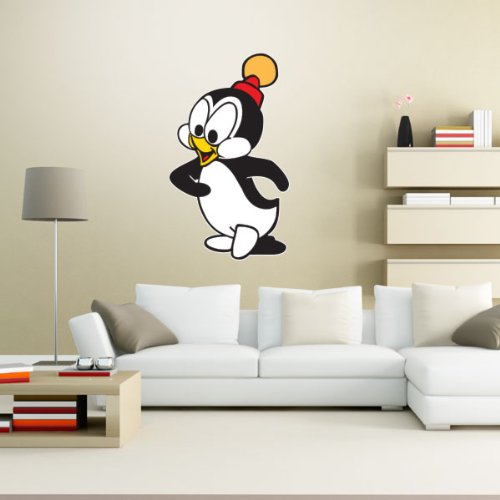 - Chilly Willy Penguin Wall Graphic Decal Sticker 25
