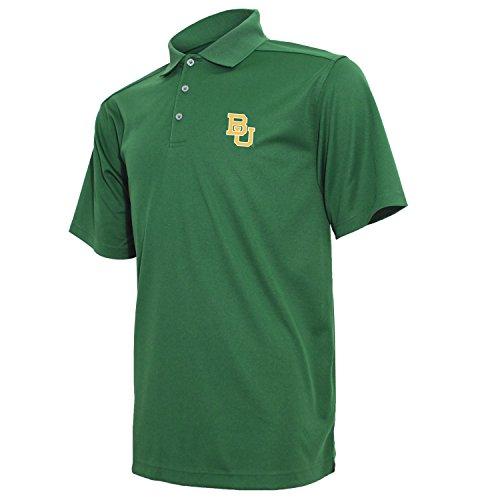 NCAA Men's Crable Ottoman Textured Tech Polo Shirt (Polo Textured Mesh Shirt)