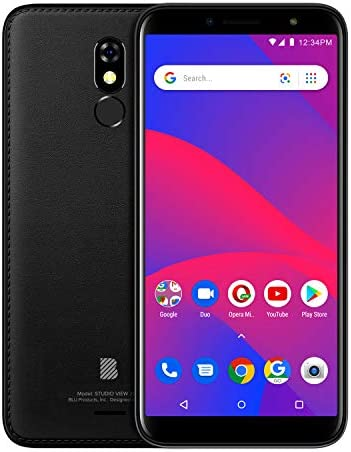 "BLU Studio View 2019-6.0"" GSM Unlocked Smartphone, 32GB+1GB RAM -Black"