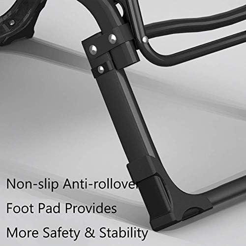 JHSHENGSHI Chaises Longues inclinables avec Coussin épais, Chaise Longue inclinable réglable pour Jardin de Plage, chaises Pliantes de Soutien 250 kg