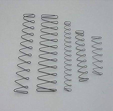 F-MINGNIAN-SPRING 1pc Square rectangulaire en Acier Fil en Forme de Ressorts de Compression Taille : 0.8x21Wx5.5Hx150L mm