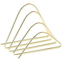 U Brands - Vaso para lápices, alambre de metal, Clasificador de letras, Dorado