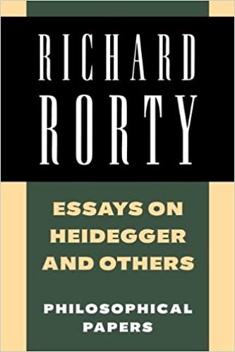 Thesis For An Analysis Essay Amazoncom Essays On Heidegger And Others Philosophical Papers Volume    Richard Rorty Books Business Essay Topics also English Essay Questions Amazoncom Essays On Heidegger And Others Philosophical Papers  Example Of Thesis Statement In An Essay
