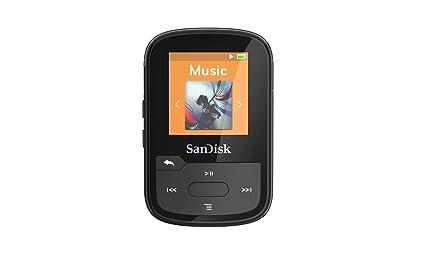 SanDisk Clip Sport Plus - Reproductor MP3 , 16GB, Negro