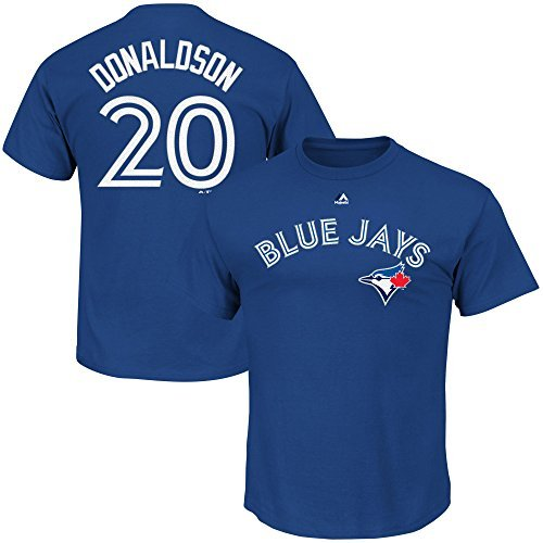 43da66473 Image Unavailable. Image not available for. Color  Josh Donaldson Toronto  Blue Jays MLB Majestic Youth Blue Alternate Cool Base Replica Jersey ...