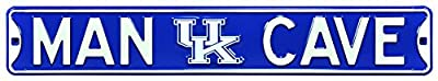 Man Cave Kentucky Wildcats Steel Sign Wall Sign 36 x 6in