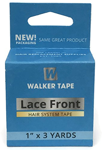 System Hair Tape (Walker Tape Blue Lace Double Sided Tape Roll 1