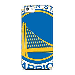 Excellent Hard Cell-phone Case For Iphone 5c With Customized Stylish Golden State Warriors Pattern Best-phone-covers