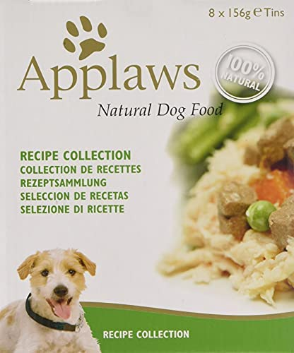 Applaws Natural Dog Food, Multipack, Recipe Selection, In Broth Tin, 156g,Pack of 4X 8 (Total pack of 32) – Dogs Corner