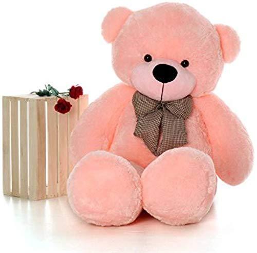 RTX Teddy Bear Soft Toys Animal  Pink, 6 FEET 180 cm