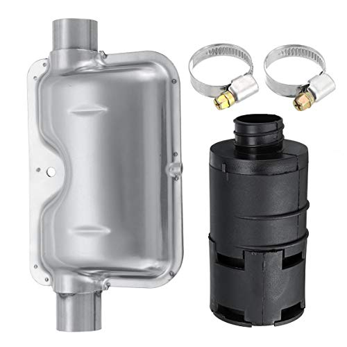 OKIl Diesel Heater Exhaust Muffler Pipe Silencer Clamps ()