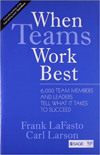 Buy When Teams Work Best 6000 Team Members And Leaders Tell What It