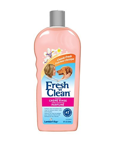 - Fresh 'n Clean Scented Creme Rinse, Classic Fresh Scent, 18 oz