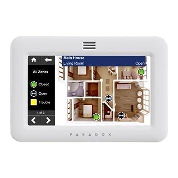 PARADOX TM50W PXDTM50W alarma antirrobo teclado de pantalla ...