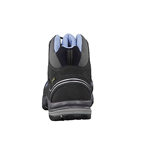 Meindl 52730-31 Journey Lady Mid Gtx - Zapatillas de senderismo de Piel para mujer gris oscuro